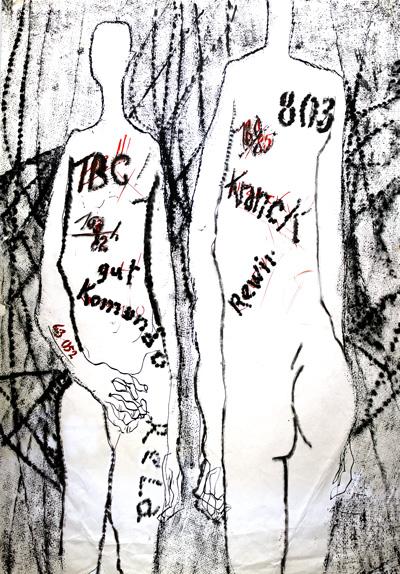 Otvaranje izložbe crteža Miloša Bajića – Ljudi brojevi